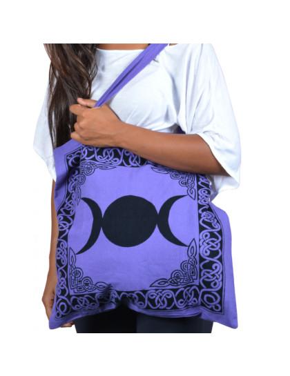 Bolsa Tríplice Lua ou Triluna-Violeta