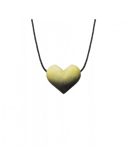 Colar Difusor Pessoal Coração-Girassol