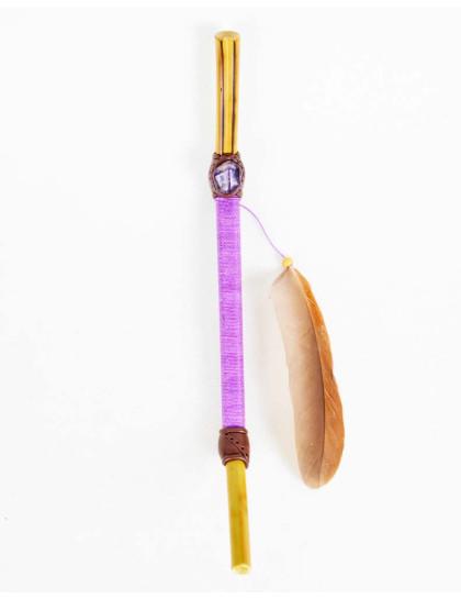 Tepi com Bambu, Cristal e Linha