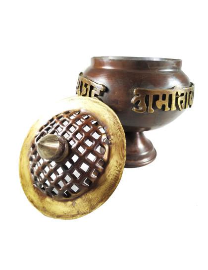 Incensário Tibetano Antigo