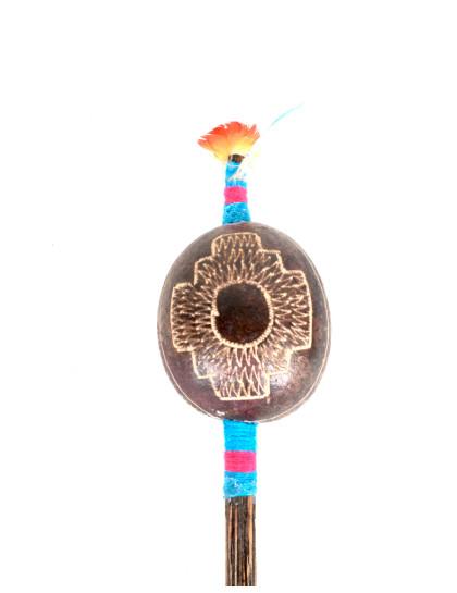 Maraca Shipibo Chakana