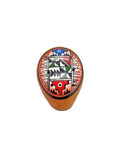 Ocarina 10cm Vermelha