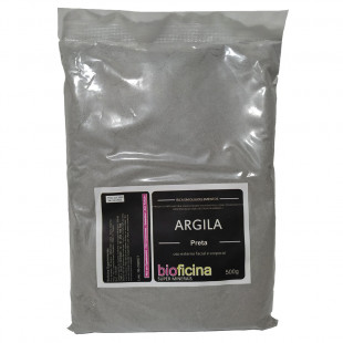 Argila Preta 500g