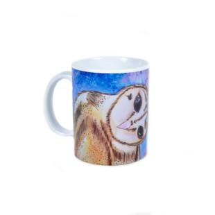 Caneca de Ceramica   Personalizada -Coruja