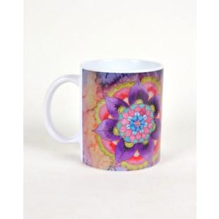 Caneca de Ceramica   Personalizada -Mandala