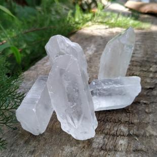 Ponta de Quartzo Cristal Natural