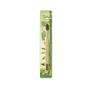 Escova Natural Suavetex Bamboo e Carvão
