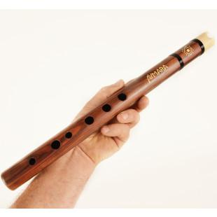 Flauta Jacarandá com Boca de Osso