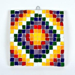 Mosaico Chacana & Whipala